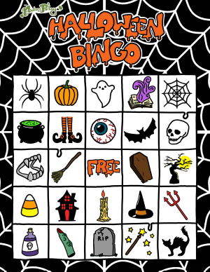 NaturePlay Art Halloween Coloring Pages