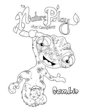 NaturePlay Art Coloring Pages