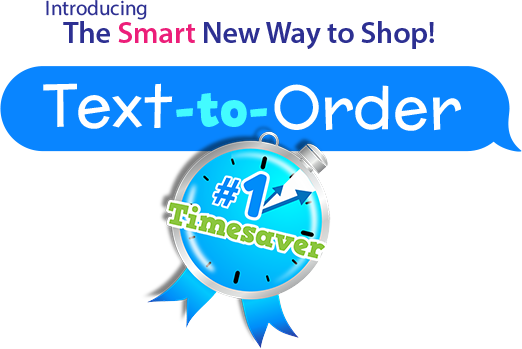 Text to Order logo